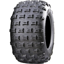 ITP Quadcross XC Rear Tire - 20x11-9 - 2004 Honda TRX450R (KICK START) ITP T-9 GP Front Wheel - 10X5 3B+2N Black