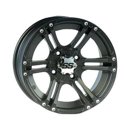 ITP SS212 Rear Wheel - 12X7 Black - Main