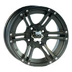 ITP SS212 Front Wheel - 12X7 Black - Utility ATV Rims & Wheels