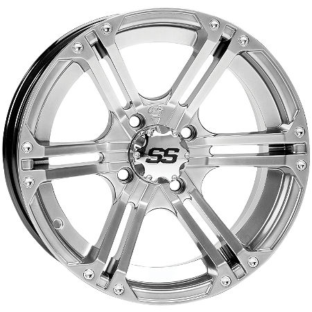 ITP SS212 Front Wheel - 15X7 Platinum - Main