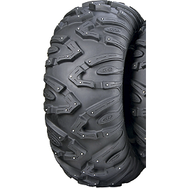 ITP Tundracross Rear Tire - 25x10-12 - 1999 Yamaha TIMBERWOLF 250 4X4 ITP SS112 Sport Rear Wheel - 9X8 3+5 Black