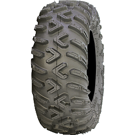 ITP Terracross R/T Tire - 25x8-12 - 1999 Yamaha BIGBEAR 350 2X4 Moose 393X Front Wheel - 12X7 4B+3N Black