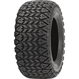 ITP All Trail Tire - 22x11-10 - 1991 Honda TRX200D ITP SS112 Sport Rear Wheel - 10X8 3+5 Black