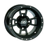 ITP SS112 Sport Rear Wheel - 10X8 3+5 Black -