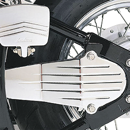 Jardine Drive Shaft Cover - Chrome - 2008 Yamaha V Star 650 Custom - XVS65 Jardine Rumblers Slip-On Slashcut Exhaust