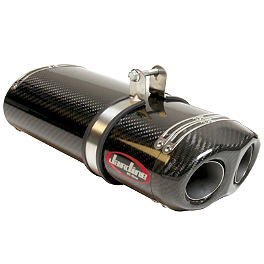 Jardine RT-1 Carbon Fiber Dual Outlet Slip-On Exhaust - Yoshimura RS-5 Slip-On Exhaust - Titanium