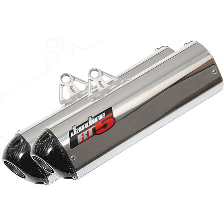 Jardine RT-5 Dual Slip-On Aluminum Exhaust - Main