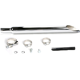 Jardine Rumblers Slip-On Slashcut Exhaust - 1999 Suzuki Savage 650 - LS650P SuperTrapp Megaphone Series Slip-On Exhaust