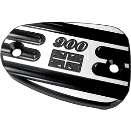 Joker Machine Front Master Cylinder Cover - Series 900 - 2006 Triumph Thruxton 865 Joker Machine Billet Gas Cap - Union Jack 900