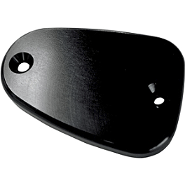Joker Machine Front Master Cylinder Cover - Smooth - 2012 Triumph Bonneville Joker Machine Front Master Cylinder Cover - Smooth