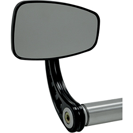 Joker Machine Cafe Bar End Mirror - Joker Machine Rectangle Bar End Mirrors