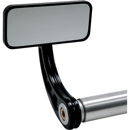 Joker Machine Rectangle Bar End Mirrors - Main