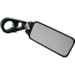 Joker Machine Rectangle Folding Bar End Mirror - Joker Machine Viewtech 5 Teardrop Mirror - Smooth
