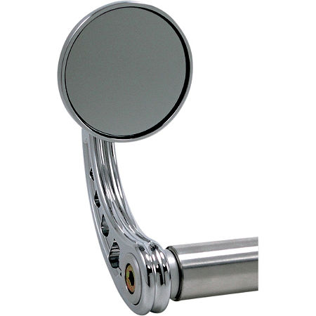 Joker Machine Round Bar End Mirror - Main