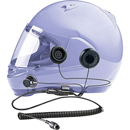 J&M Audio HS-8154B Headset For Full Face Helmets - Main