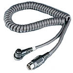 J&M Audio HC-E Single-Section 5-Pin Replacement Cord -  Motorcycle Communication Systems