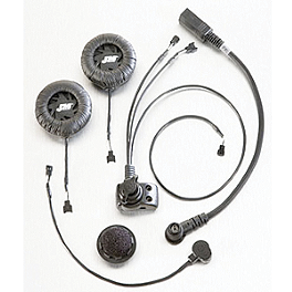 J&M P-Series Headset Combo - J&M License Plate CB Antenna Kit