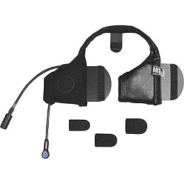 J&M Audio Performance Series Integrated Slide-In Headset For Most Shorty-Style Helmets - J&M Audio Universal Elite Bluetooth Headset