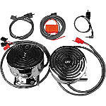 J&M Audio Self-Amplified Handlebar Speaker Kit - Motorcycle Sound Systems