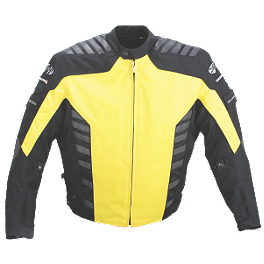 Joe Rocket Airborne Jacket - Joe Rocket Pro Street Leather Jacket