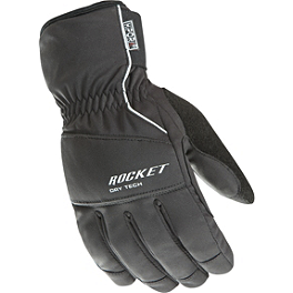 Joe Rocket Ballistic 7.0 Gloves - Fieldsheer Aston 2.0 Leather Jacket