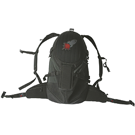 Joe Rocket Blaster Back Pack - Alpinestars Protection Backpack Black