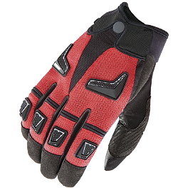 Joe Rocket Hybrid Mesh Gloves - Vortex 530 SV3 Black Master Link - Clip Style