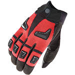 Joe Rocket Hybrid Mesh Gloves - SIDI Shorty Motorcycle Gloves