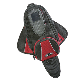 Joe Rocket Manta Tank Bag - Joe Rocket RKT Prime Helmet - Rampage