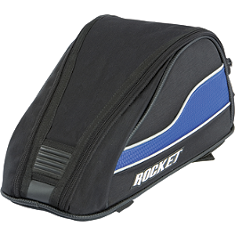 Joe Rocket Manta Tail Bag - Joe Rocket RKT Prime Helmet - Rampage