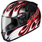 Joe Rocket RKT Prime Helmet - Rampage -  Open Face Motorcycle Helmets