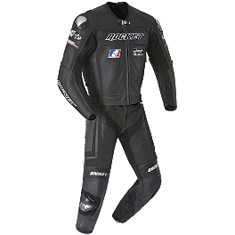 Joe Rocket Speedmaster 5.0 Leather Two-Piece Suit - AGVSport Willow Leather One-Piece Suit