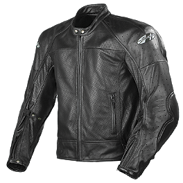 Joe Rocket Sonic 2.0 Perforated Leather Jacket - Joe Rocket Radar Dark Leather Jacket