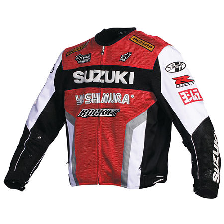 Joe Rocket Suzuki Replica Mesh Jacket - Main