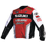 Joe Rocket Suzuki Replica Mesh Jacket - Textile Mesh Motorcycle Riding Jackets
