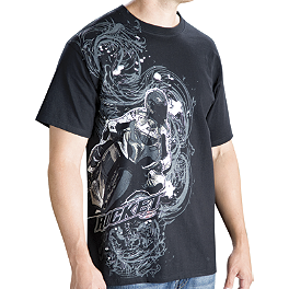 Joe Rocket Street T-Shirt - Alpinestars Aggressive T-Shirt