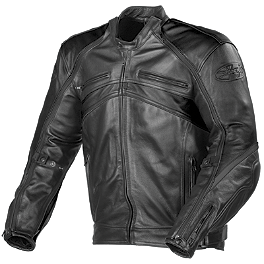 Joe Rocket Super Ego Jacket - Joe Rocket Radar Dark Leather Jacket