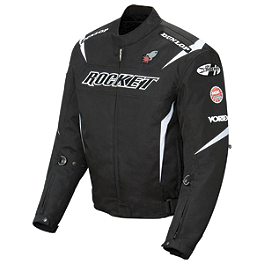 Joe Rocket Ufo Solid Jacket - Joe Rocket Suzuki Replica Mesh Jacket