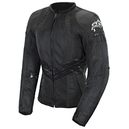 Joe Rocket Women's Alter Ego 3.0 Jacket - Joe Rocket Ballistic 7.0 Gloves