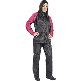 Joe Rocket Women's RS-2 Rain Suit - Accugage Rubber Gauge Cover