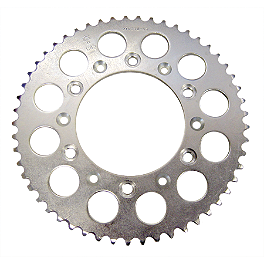 JT Steel Rear Sprocket - 1990 Honda CR125 JT Steel Chain And Sprocket Kit