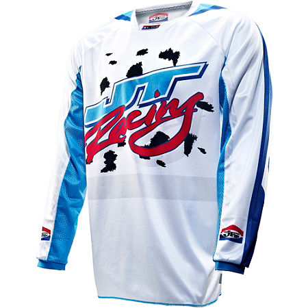 2013 JT Racing Dalmatian Limited Edition Jersey - Main