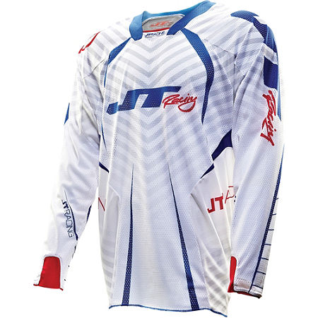 2013 JT Racing Evolve Protek Vented Jersey - Fader - Main