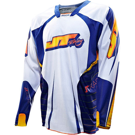 2013 JT Racing Evolve Protek Vented Jersey - Race - Main