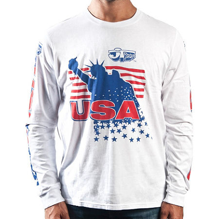 JT Racing Long Sleeve Liberty T-Shirt - Main