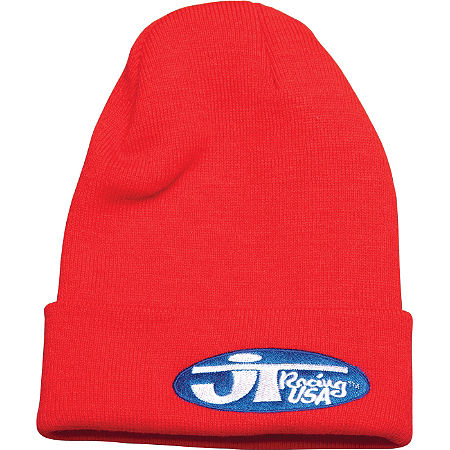 JT Racing Oval Logo Beanie - Main
