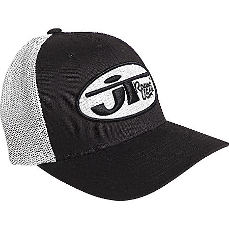 JT Racing Oval Logo Trucker Hat - Main