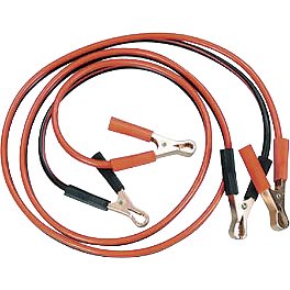 Emgo Jumper Cables - 8' - MC Enterprises Motorcycle Jumper Cables