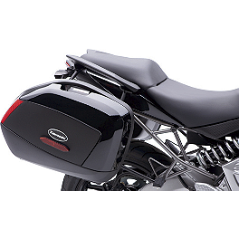 Kawasaki Genuine Accessories Saddlebag Supports - Kawasaki Genuine Accessories Luggage Rack - Black