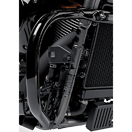 Kawasaki Genuine Accessories Engine Guard - Black - Kawasaki Genuine Accessories Radiator Cover - Black